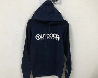 Outdoor Product Hoodie Blue Size L