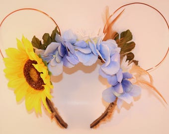 Pocahontas Wire/Floral Ears