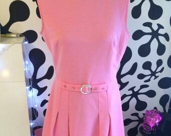 Baby Pink Vintage Dress