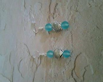 Beach Blues earrings