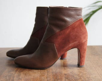 Chie Mihara Vintage Ankle Boots