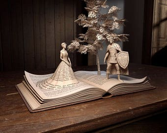 Print Series The Pop Up Book Collection - The princess, The prince and the tree - Imaginative Images Print To Size