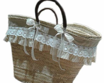 SHABBY beach bag