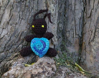 Crocheted Heartless Kingdom Hearts
