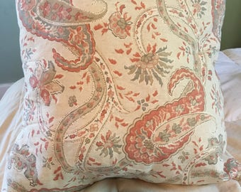"Country Floral 18"" Decorative Pillow"