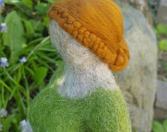 "Fat lady ""Georgie"" felted hand made"