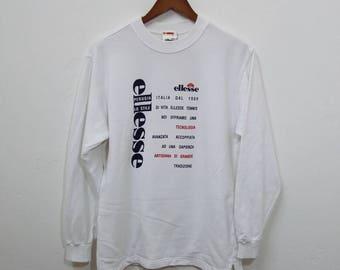 Vintage ELLESSE Sweatshirt Nice Design
