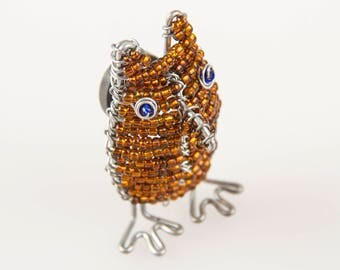 Small owl magnet