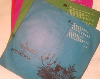 Vintage Records - A Treasury of Christmas set of 4