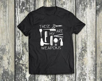Hairstylist Weapons T-Shirt