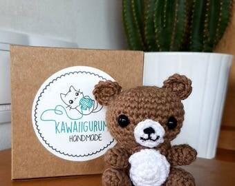 BROWN BEAR AMIGURUMI