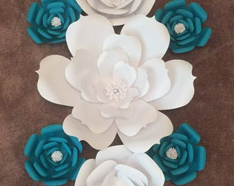 20% off Use code Springsale17-Paper Flowers-Set of 8