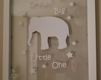 Elephant and Giraffe Nursery Decor
