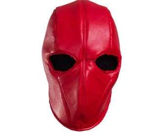 Jason 'Red Hood' Todd Leather Mask