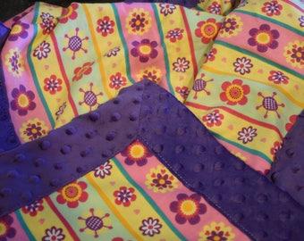 Snuggly Flower Blanket