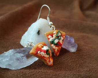 Veggie Pizza Earrings