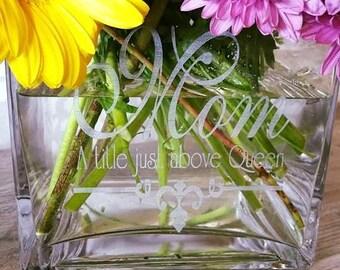 Personalized Vases
