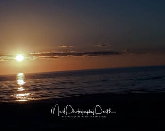 Mullaloo Beach, Sunset, Silouhette, Summer, Evening