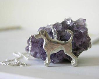 Doberman Dog Necklace