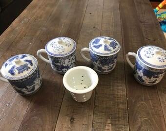 Pier 1 vintage coffee/tea cups