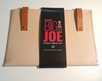 Big Joe Leather Laptop Case
