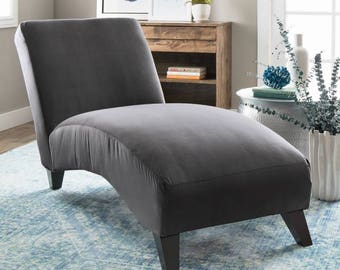 Gray Chaise Lounge