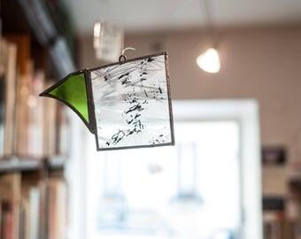 Poet, Green, Broken Glass