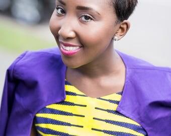 Saffron African Jacket