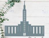 Los Angeles, California LDS Temple Cut File - Digital Download - SVG, Vector, Cricut, Silhouette, Clip Art