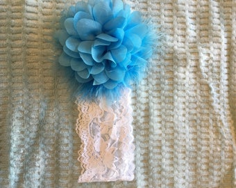 Toddler/Child Lace Floral Headband