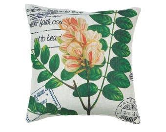 Botanical Garden Decor Pillow