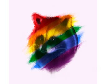 The Pride Raccoon