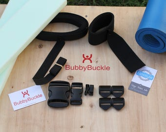 DIY Carrier Kit - Flosstyle Kanga Premium Kit - Buckles, Webbing and Foam