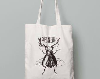 Stag beetle - Tote bag