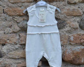 100% Natural Cotton Romper Suit 56 cm.