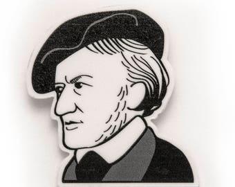 Broche Compositor Ópera - Richard Wagner