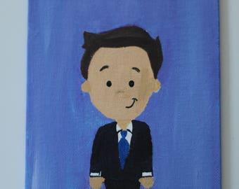 Jimmy Fallon Canvas Painting
