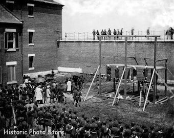 Execution of President Lincoln's  Assassins