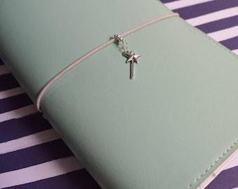 Fairy Wand Travelers Notebook Charm