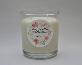 Sweet Pea Vanilla - Medium Soy Candle