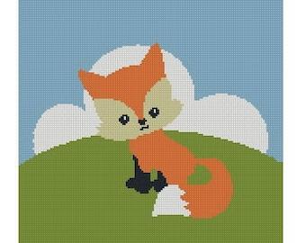 Crochet Graph: fox1