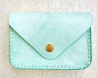 Leather card holder / leather card case / cardholder