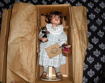 Boyds bear collection doll