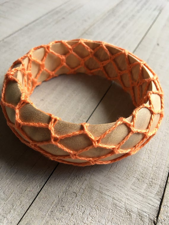 Boho Chic Wide Crochet Bangle Bracelet Hippie Bohemian Jewelry Chunky Stack Bracelet Girlfriend Mothers Day