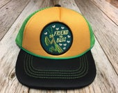 """Toddler Trucker Hat with """"Friend to Bugs"""" Pat..."""