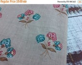 50% OFF- Vintage Floral Fabric-Quilting Cotton Fabric