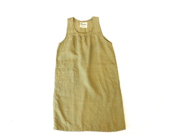 SALE #110: Organic Linen Patio Dress // Size XS