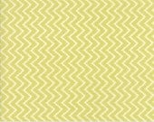 Coney Island - Zig Zag in Limesicle Green: sku 20284-17 cotton quilting fabric by Fig Tree and Co. for Moda Fabrics - 1 yard