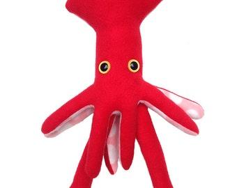 Red Fleece Squid
