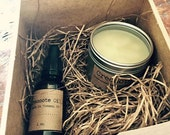 Desert Creosote Gift Set...Desert Rain Creosote Salve and Creosote Oil....gift packaged.